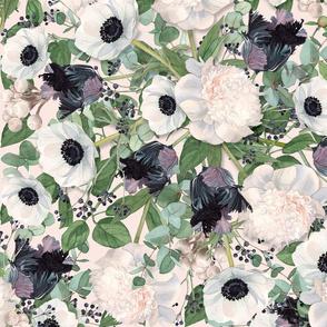 Eucalyptus Floral Allover BLUSH