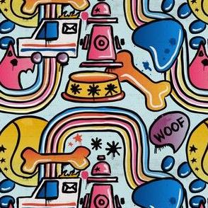 Doggy Graffiti