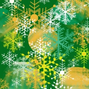 Green & Gold Holiday Extravaganza