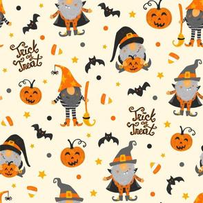 Festive Halloween Gnomes