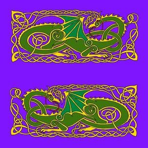 dragon 6 green purple