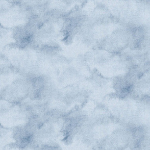 Deep blue abstract watercolor medium scale