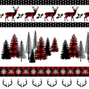 Red Buffalo Plaid Large Stripe Blanket