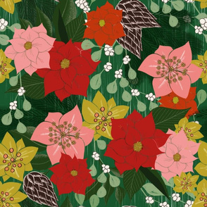 Good Cheer Christmas Florals