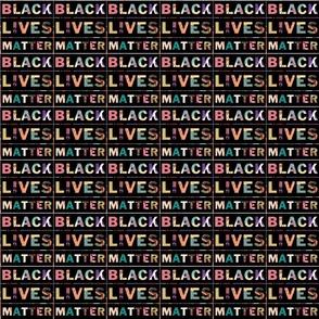 Black Lives Matter tiny