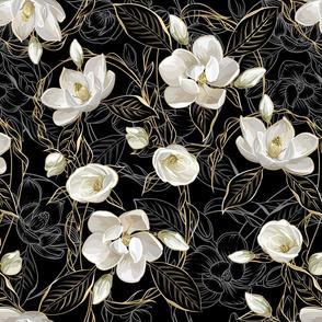 Southern Magnolias | Black