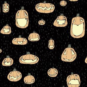 Happy Pumpkins_Black_LRG