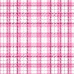 Small Pale Pink Plaid