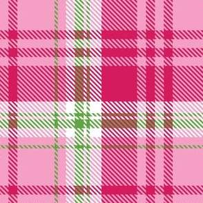 Pale Pink Plaid