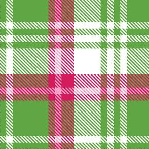 White Green Plaid