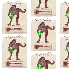 Happy Holidays from Tyranosaurus