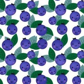 Blueberry smilies.