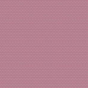 Polka dots on dark pink