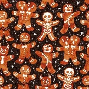 Christmas Ginger Dread Men Black