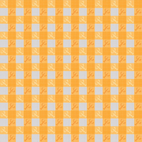 Crawfish Table Cloth - Yellow