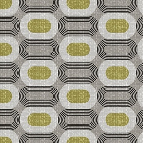 Tweedy mid century ovals-granite
