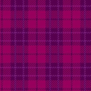 Small Berry Purple Plaid