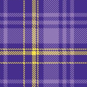 Purple Yellow Plaid