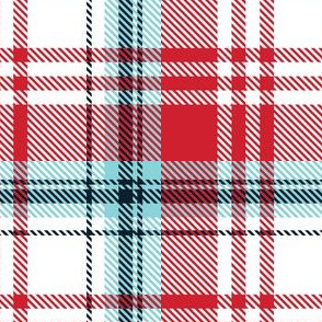 Red White Plaid