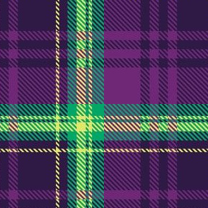 Dark Purple Plaid