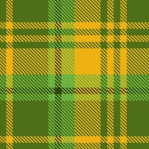 Yellow Green Plaid