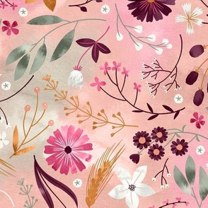 Wild Meadow Flowers