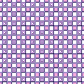 Squares Purple and Pink