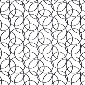Sketch Circles Charcoal Pencil