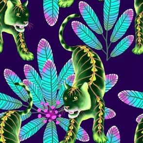 Maranta Tigers (Purple Background) – Small Scale