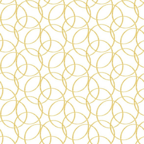 Sketch Circles Mustard