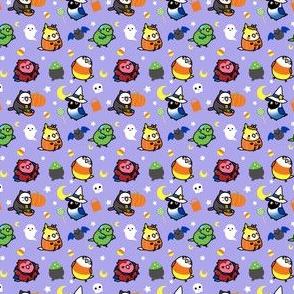 Chubby Bird Halloween Adventures