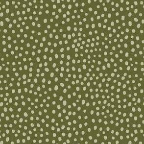 Spots, green