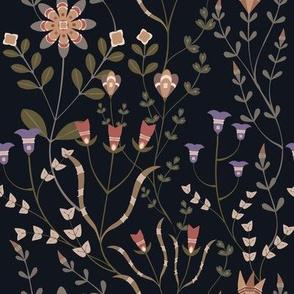 Dakota Prairies: Florals pattern 1