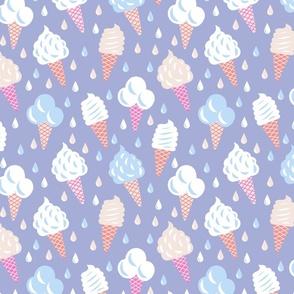 Ice Cream Cones - Blurple
