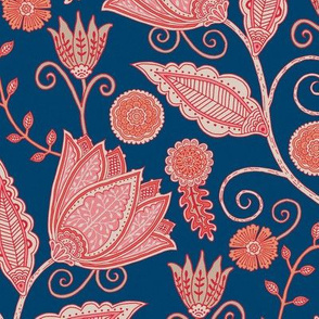 "Tara's Garden (12"") - night blue"