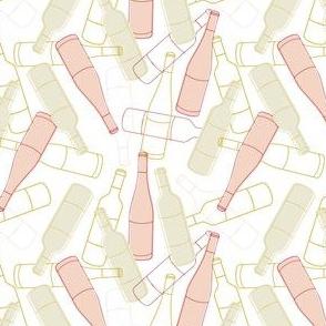 Retro Wine Bottles
