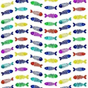 Vintage seashells polka dots