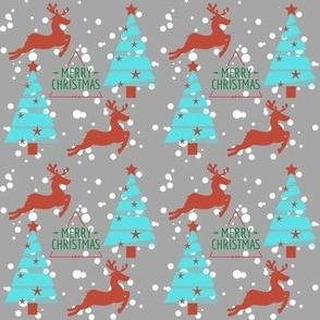 Christmas trees and Flying Reindeer
