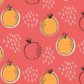 Oranges in Pink