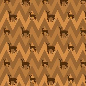 Deer & Chevron