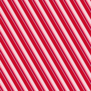 Red Candy Stripe [half scale}