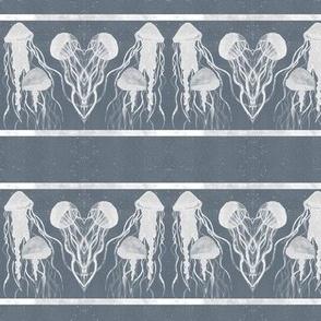 X-Ray Jelly-Fish - Blue