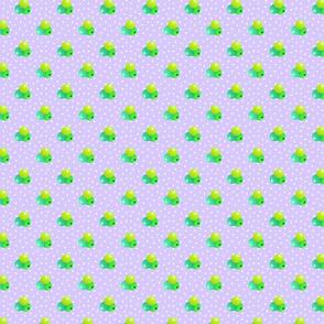 Medium lavender dots triple berries