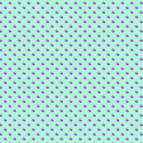 Petite mint dots triple berries