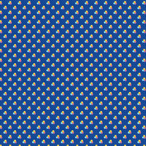 Petite blue dots triple berries