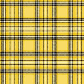 mustard yellow tartan 20% smaller