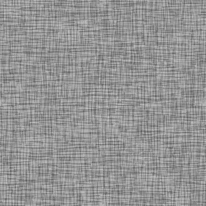 Rainy Day  Scritch-Scratch Textured Plaid in Grey