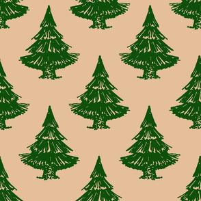 fir tree-beige
