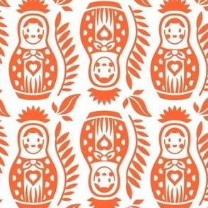 Matrioska Dolls Orange