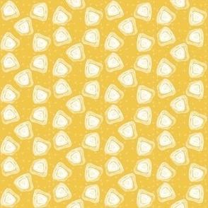 X-Ray Agate Slice - Yellow